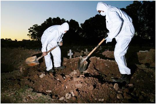 ব্রাজিলে করোনায় মোট ২৮ হাজার ৮৩৪ জনের মৃত্যু